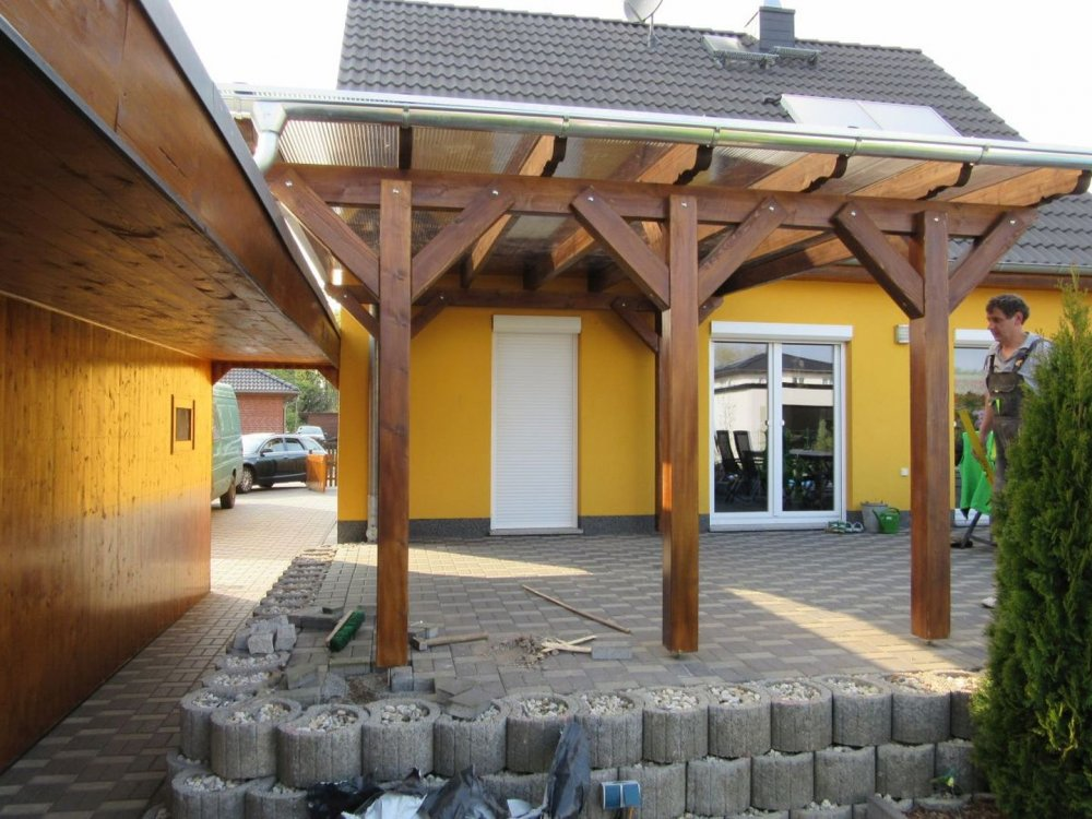 carport aus polen satteldach carport with carport aus. Black Bedroom Furniture Sets. Home Design Ideas